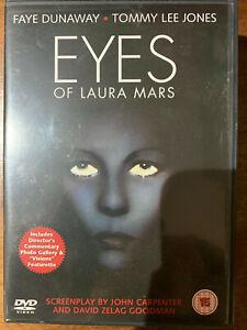 Eyes of Laura Mars DVD 1978 John Carpenter Horror Thriller Movie Classic