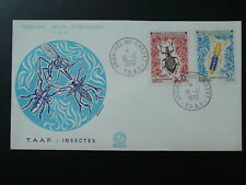 insects FDC 1972 TAAF 80204