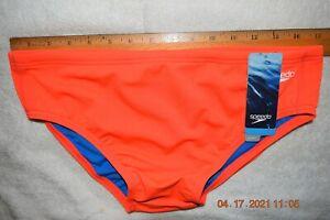 Mens   SPEEDO    swim brief  Orange 36    [#1351]