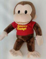 "Curious George 11""  Plush Doll Universal Studios Stuffed Toy GUND Beanbag Bottom"