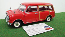 MORRIS  MINI TRAVELLER break rge 1/18 KYOSHO 08195R voiture miniature collection