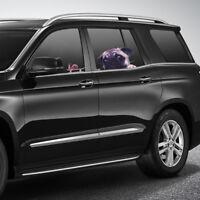 UK Funny Cute 3D Car Window Decals Pug Dog Watch Snail Pet Puppy Laptop Stickers