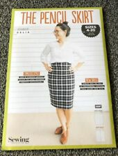 THE PENCIL SKIRT PATTERN SHEET FOR SIZES 4-20