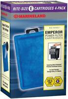 Marineland Rite-Size E Emperor Power Filter Cartridge Refills - 8 count
