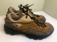 VTG Reebok DRT2 Hiking Trail Boots Shoes Brown Leather Rubber Womens Size 8