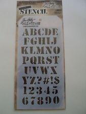 Tim Holtz Colección cargo capas de la plantilla THS001 BNIP * Para ver *