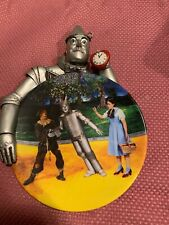 Bradford Exchange Wizard of OZ The Tin Man Collector's plate