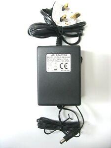2000ma 24v AC-AC (AC Output) Mains Power Adaptor/Supply/Charger (2a, 48w, 48va)