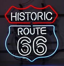 """New Historic Route 66 Decor Lamp Bar Beer Neon Sign 19""""x15"""""""