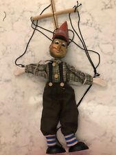 Vintage Wooden Pinnochio Marionette. Made In China