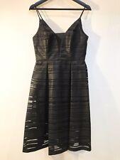 Forever New Black Wet-Look Midi Dress (10)