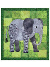 ELLINGHAM ELEPHANT Wallhanging/crib quilt pattern by Spring Creek Needleart