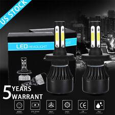 New listing 4-Sides Cree H4 Led Headlight Kit Bulbs 6500K 9003 Hb2 2500W 375000Lm Pure White