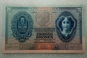 20 Kronen Austria 1907 XF/UC