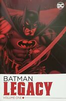 BATMAN: LEGACY Volume One - Book - CHUCK DIXON - NEW