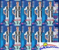 (10) 2018/19 Topps Match Attax Champions League RONALDO Limited Edition JUVENTUS