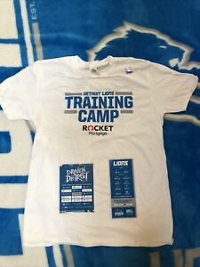 Detroit Lions Training Camp 2021 Tee Shirt Extra large