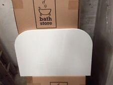 Trio gloss white worktop for 600 vanity unit. Quantity 1 unit