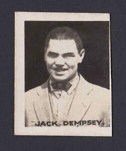 1922 Jack Dempsey Comic Life Sports Champions Heavyweight Boxing Photo Card #5