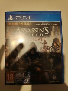 Jeu PS4 ASSASSIN'S CREED SYNDICATE Playstation 4 édition spéciale