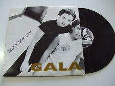 "Gala – Let A Boy Cry  - Disco 12""  Vinile ITALIA 1997 Euro House"