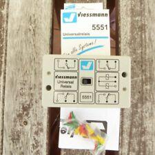 Viessmann 5551 Universal-Relais 1 x 4UM neuwertig in OVP