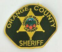 Orange County CA California Sheriff Shoulder Patch