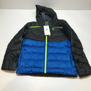 Spyder timeless hoodie synthetic down jacket boys Large