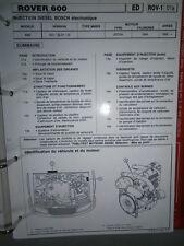 Rover 620 - Di SDi SLDi 1995 ->: diagnostic réglage injection Publitest ROV-1