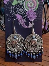 Hook Natural Rose Quartz Fashion Earrings