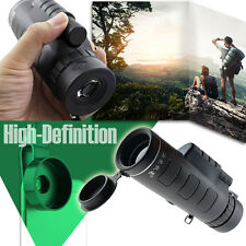 New Outdoor Portable 10x40 Zoom Optical HD Monocular Hunting Camping Telescope