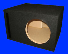 "8"" SINGLE .75 Cu.Ft. PORTED 3/4 MDF BLACK SUBWOOFER SUB SPEAKER ENCLOSURE BOX"