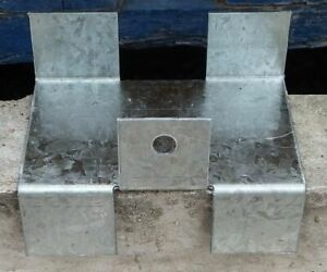 Stop Fence Panels Rattling Bending and Blowing Out Fits 100&125mm Concrete Posts