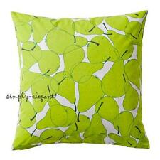 "IKEA Summer Cushion cover Set of 2 Deco Pillow Cover 20 x 20"" Green Pears Sommar"