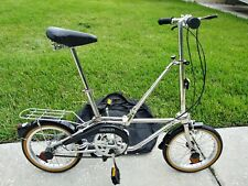 Dahon stainless steel Bicycle Folding Foldable Camping Bike Vintage