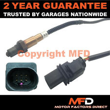 LAMBDA OXYGEN WIDEBAND SENSOR FOR AUDI A3 3.2 V6 (2005-12) FRONT RIGHT 5 WIRE