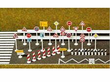 Busch 6027 Verkehrszeichen Set viel Zubehör H0 Bausatz