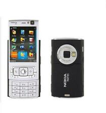 Nokia N95 - Silver black (Unlocked) 3G WiFi Gps 5MP Cell Phone Free Shipping