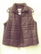 Athletic Works Vest Women's Sz 1X (16W) Black Zip Up