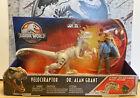 RARE Jurassic World/JP Legacy Collection Velociraptor Dr. Alan Grant Story Pack