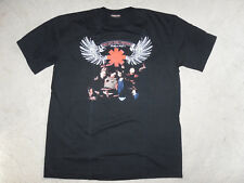 RED HOT CHILI PEPPERS T-SHIRT NOIR COL ROND MANCHES COURTES TAILLE XXL EN COTON