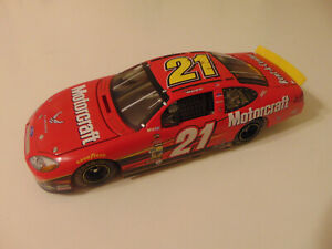 TEAM CALIBER 2004 RICKY RUDD #21 MOTORCRAFT AIR FORCE FORD TAURUS NASCAR 1:24