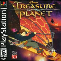 Disney's Treasure Planet Playstation 1 Game PS1 Used Complete