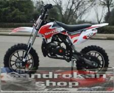 Minimoto Cross Sport carbu 15 pit bike 2 tempi RED