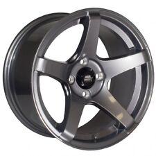 MST Wheels MT09 Rims 15x8 4x100 +20 Offset 73.1 Center Bore Concave Gunmetal NEW