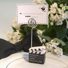 6 Movie Theme Place Card Holders Hollywood Oscars Red Carpet Party Favor MW70049