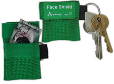 RESUSCITATION CPR FACESHIELD IN KEY FOB - EMERGENCY MOUTH TO MOUTH