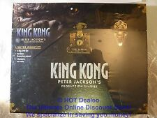 KING KONG - Limited Quantity Peter Jackson's Production Diaries (2 ea DVD 2005)