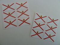 Mini Aufkleber-Pack, selbstklebende Jersey Flagge Etiketten, FR15