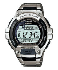 W-S220D-1A WS-220D-1A 120 Lap Memory Casio Men's Watches Tough Solar Sport
